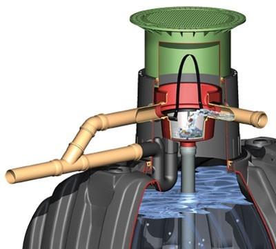 Carat Ausbaupaket 2 DN100 für Erdtank Carat GRAF 342002 Bild 1