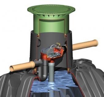 Carat Ausbaupaket 3 DN100 für Erdtank Carat GRAF 342005 Bild 1