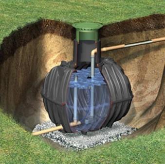 Regenwasser - Rückhalte - Zisterne Carat 2.700 Liter Graf 370500 Bild 1