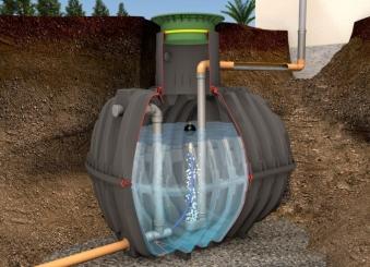Regenwasser Rückhaltezisterne Carat Plus 3.750L NV 2.250L GRAF 370519 Bild 1