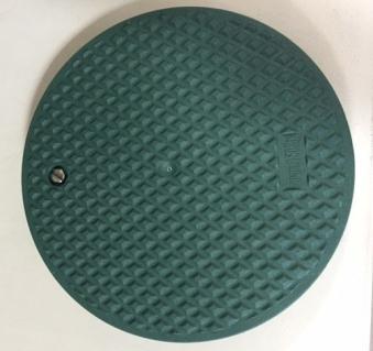 Deckel für Graf Garantia Wasseranschlussbox grün extern Bild 1